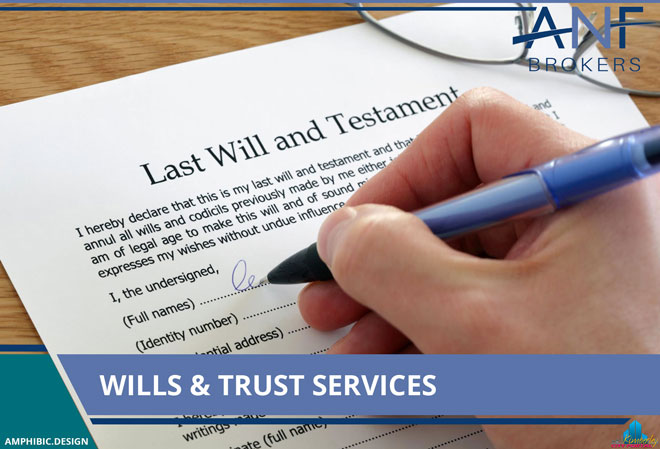 ANF Brokers Kimberley - Products & Services: Wills And Trust Services