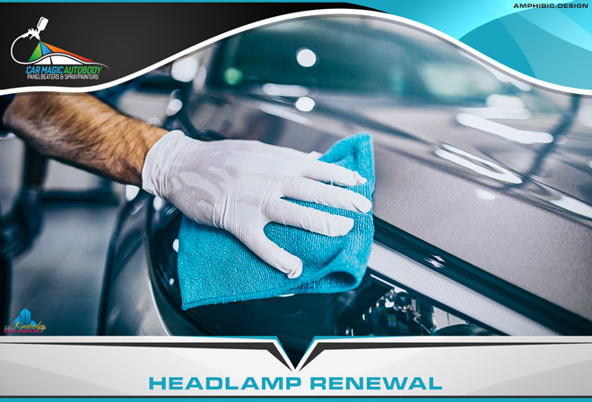 Car Magic Autobody Panelbeaters & Spraypainters Kimberley - Services: Car Headlamp Renewal/Replacement