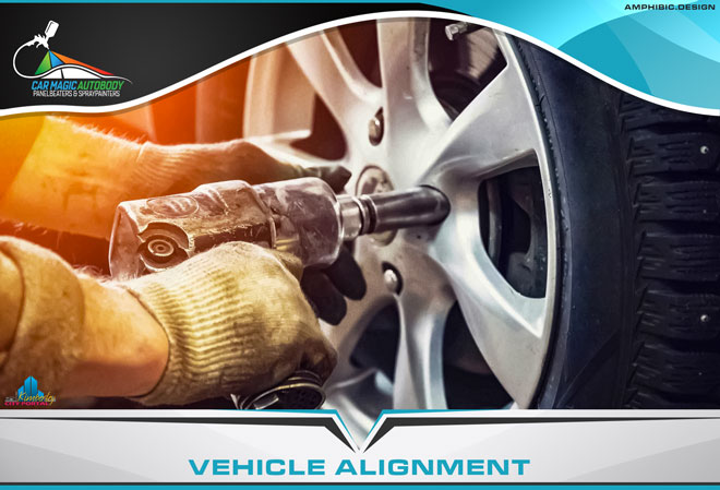 Car Magic Autobody Panelbeaters & Spraypainters Kimberley - Services: Vehicle alignment due to potholes