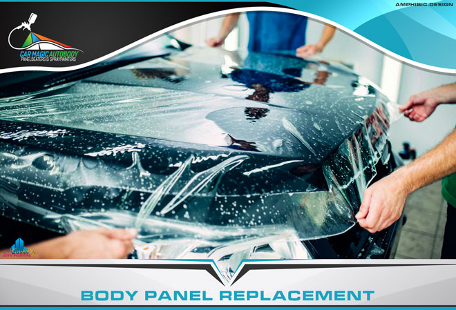 Car Magic Autobody Panelbeaters & Spraypainters Kimberley - Services: Body panel replacements including inner trays, chassis legs, roof panels and rear fenders