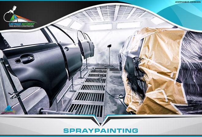 Car Magic Autobody Panelbeaters & Spraypainters Kimberley - Services: Vehicle Spraypainting