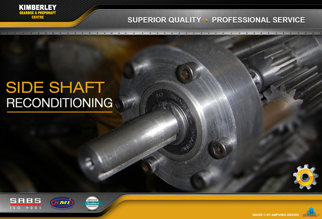 Kimberley Gearbox & Propshaft Centre -  SERVICES: Sideshaft Reconditioning