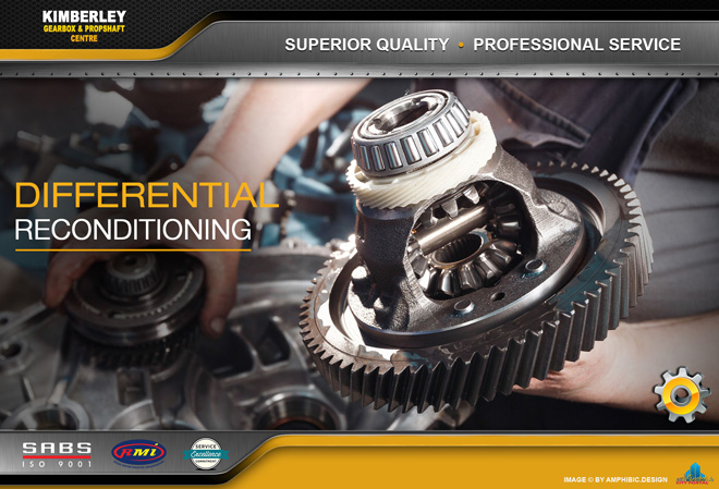 Kimberley Gearbox & Propshaft Centre -  SERVICES: Differential Reconditioning