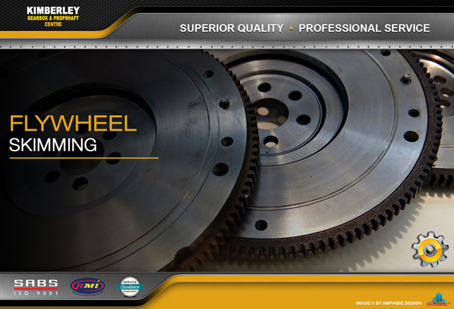 Kimberley Gearbox & Propshaft Centre -  SERVICES: Flyfwheel Skimming/Resurfacing
