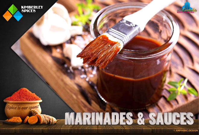 Kimberley Spices Products - Marinades & Sauces