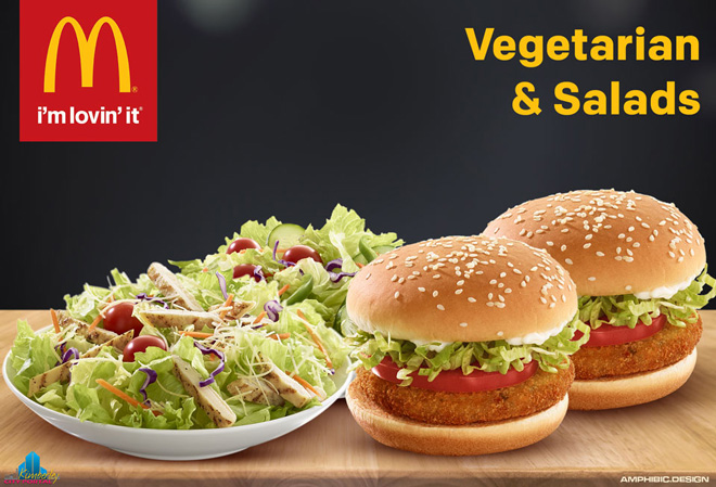 IMG: McDonald's North Cape Mall Kimberley - Vegetarian & Salads