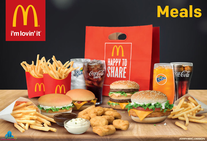 IMG: McDonald's North Cape Mall Kimberley - Meals & Happy Meals
