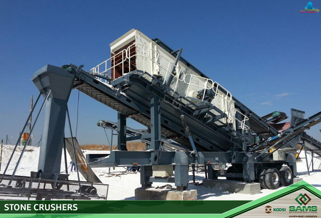 SA Mining Solutions: Mobile & Static Stone crushers and supporting equipment - Northern Cape