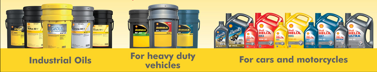 Sondre Vervoer Kimberley - Official Shell Lubricants Distributor in the Northern Cape - Industrial Oils, Oils for heavy duty vehicles and oils for cars and motorcycles