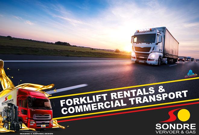 Sondre Vervoer Kimberley - Forklift Rentals & Commercial Transport