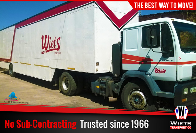 Wiets Transport Kimberley - No Sub-Contracting. Trusted since 1966.