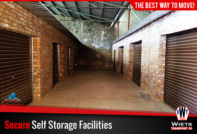 Wiets Transport Kimberley Services - Secure Self Storage Facilities