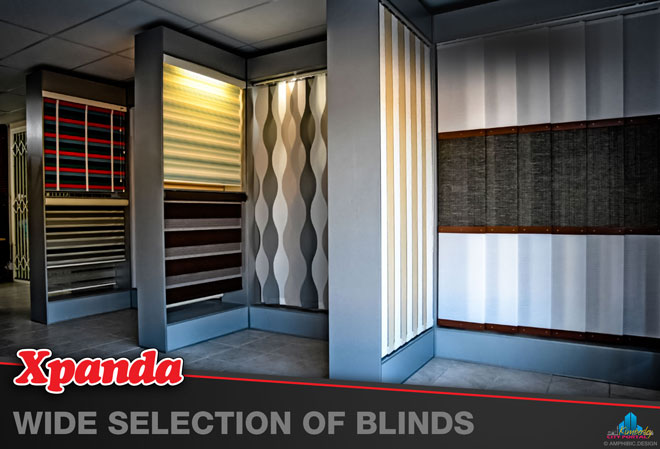 Xpanda Kimberley: Products - Wide variety of Blinds