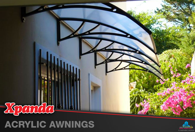 Xpanda Kimberley: Products - Acrylic Awnings